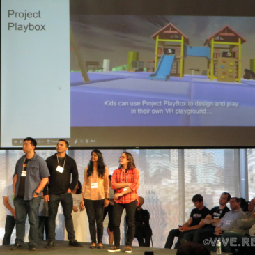 Project Playbox with their VR playground for pediatric patients