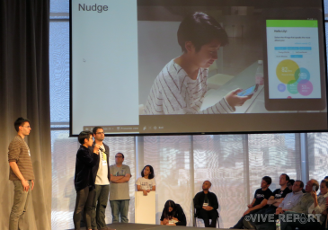 A social AR app to start conversations