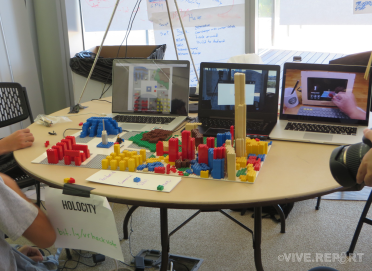 Zoning simulation using Lego Blocks by HoloCity AR